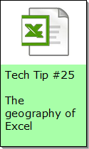 Geography of Excel