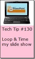 Loop and Time a Slideshow